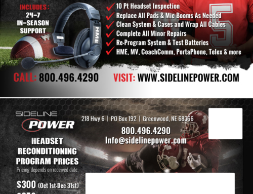 Sideline Power Postcard